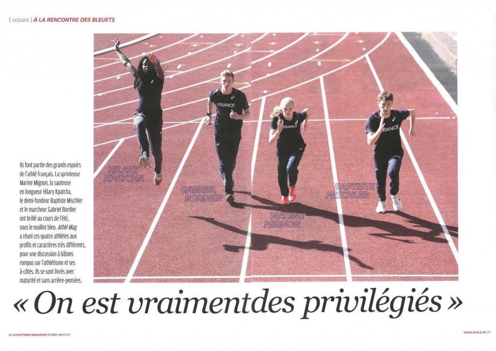 extrait athletisme magazine N- 567 - Decembre 2016 - Janvier 2017-1
